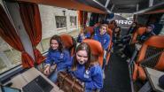 """Spijbelen? 'Klaslokaal' rijdt naar Brussel: """"Bewust met klimaat bezig"""""""
