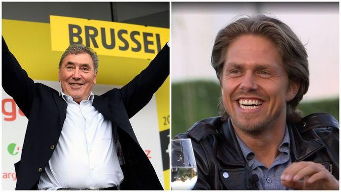 Eddy Merckx en André Hazes jr.