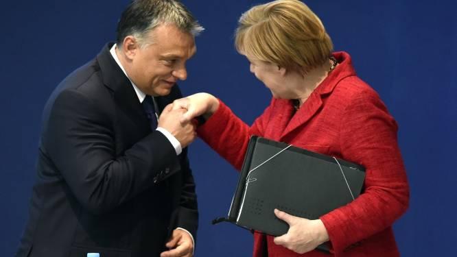 """Orban: """"Meningsverschillen met Merkel zijn verleden tijd"""""""