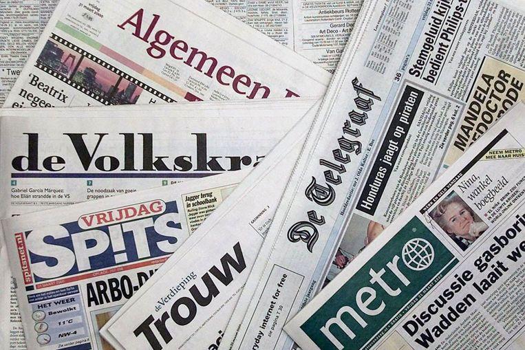 Nederlandse kranten (ANP) Beeld