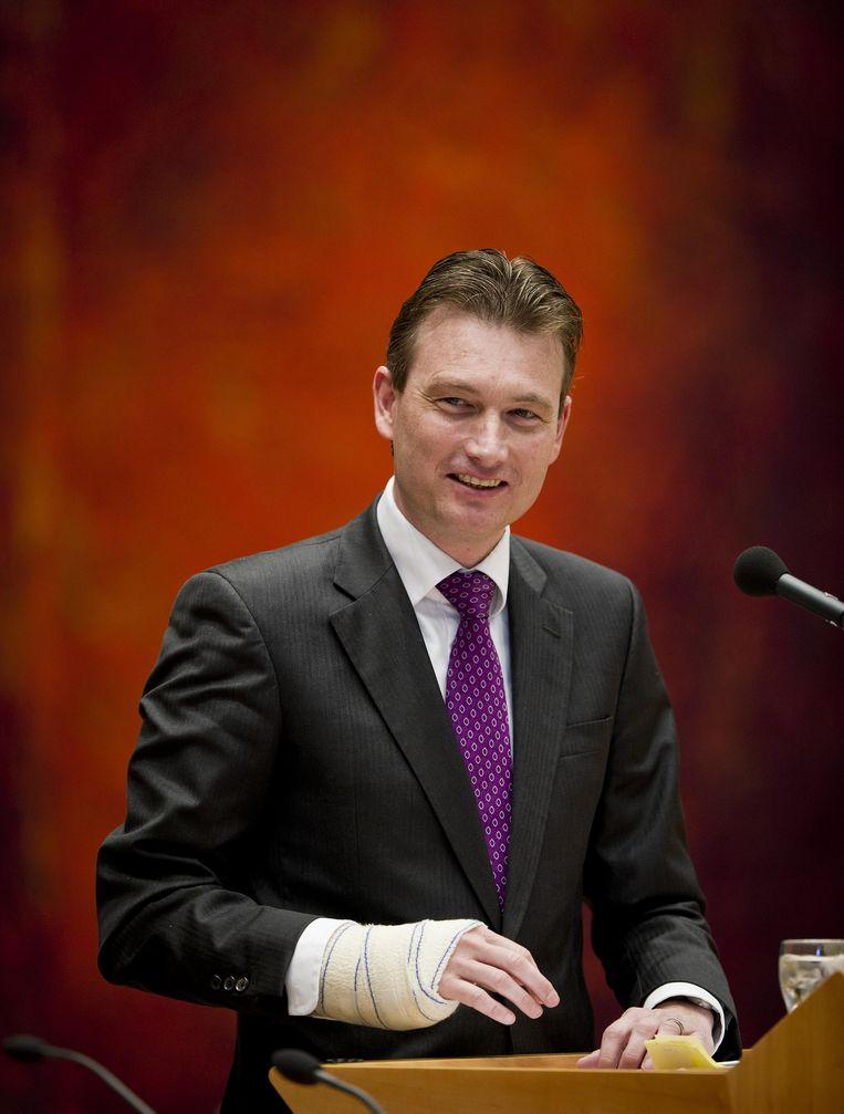 Staatssecretaris van Onderwijs, Halbe Zijlstra. Beeld ANP
