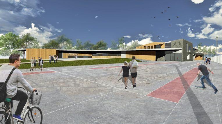 Zo zal de nieuwe sport- en jeugdsite eruit zien