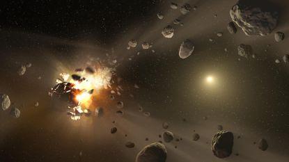 Botsing in asteroïdengordel 470 miljoen jaar geleden zorgde voor hogere biodiversiteit op aarde