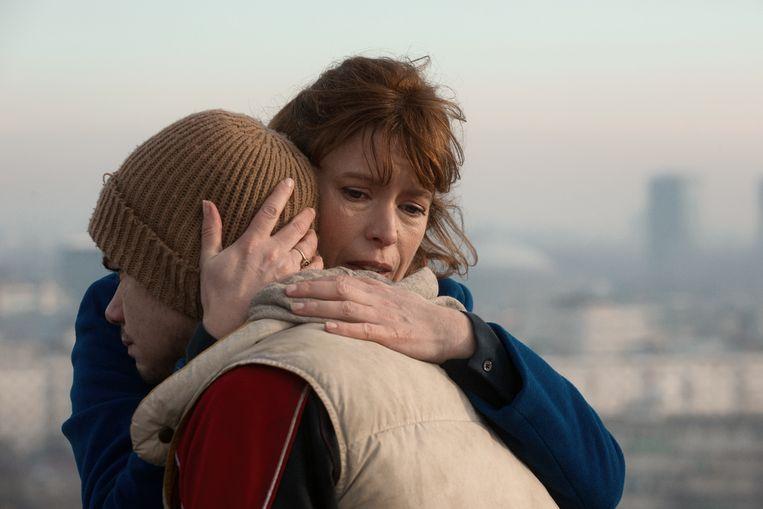 Een scène uit  de film In Blue van regisseur Jaap van Heusden. Beeld