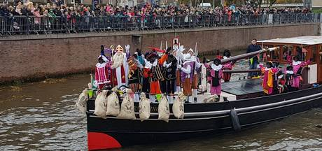 Sinterklaas enthousiast onthaald in Breda
