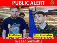 Klopjacht op twee voortvluchtige Canadese tieners breidt uit: leger ingezet