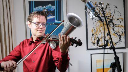 Internationaal violist Aäron Blomme zet schouders onder wereldwijde fundraising Rotary
