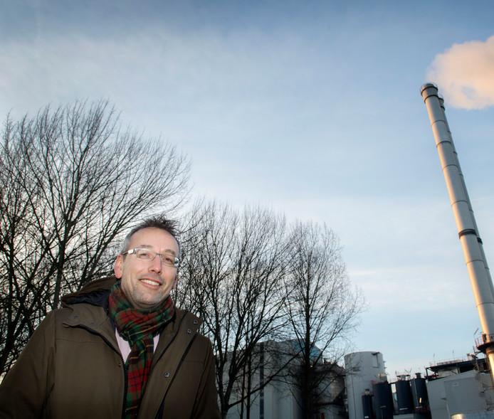 Warmteregisseur Jan van der Meer.
