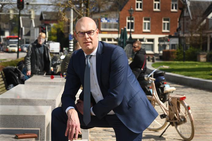 Wethouder Gerrit Boonzaaijer van Utrechtse Heuvelrug.