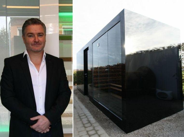 Mario Mertens, kinesist van opleiding, bracht in 2009 zijn eerste designsauna op de markt.