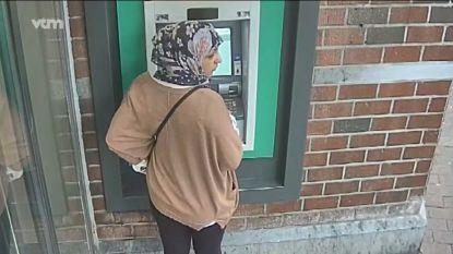 Wie herkent deze vrouw die bankkaart en 970 euro stal van rekening?