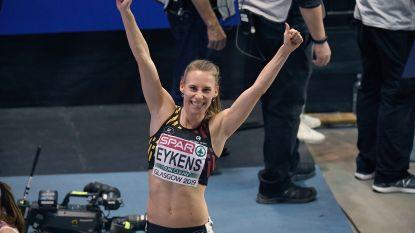 EK indoor atletiek: Renée Eykens knokt zich naar finale 800m