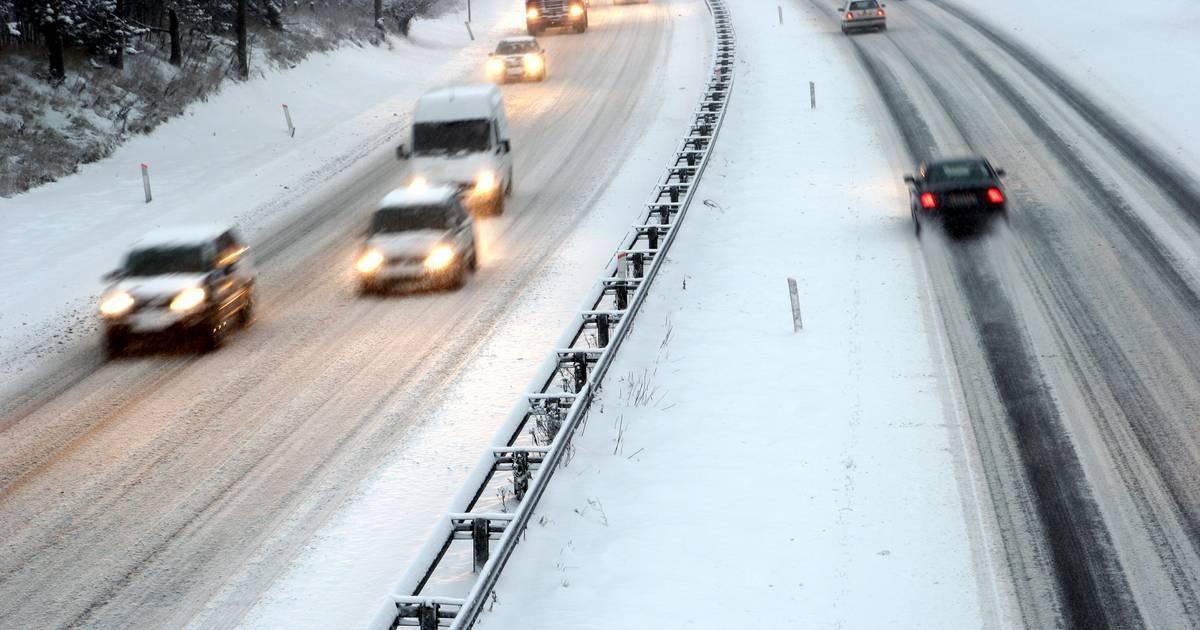 Sneeuwresten zorgen voor gladde wegen: code geel van kracht in Brabant