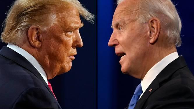 """Biden vergeet tijdens interview hoe Donald Trump heet en noemt hem """"George"""""""