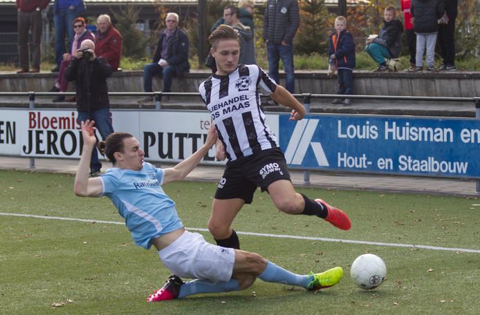 Ralf Kemper (hier op archiefbeeld) maakte de 1-1 voor Gemert tegen Jong Fc Den Bosch.
