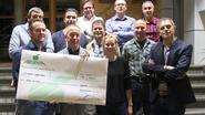 Kind in Nood ontvangt 1.500 euro