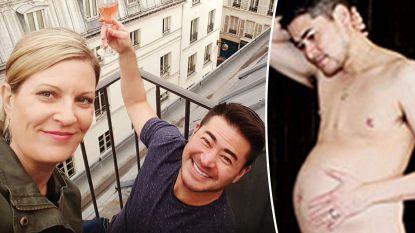 """Eerste zwangere man ter wereld sluit nieuwe zwangerschap niet uit: """"Bevallen zou nu wel met keizersnede moeten"""""""