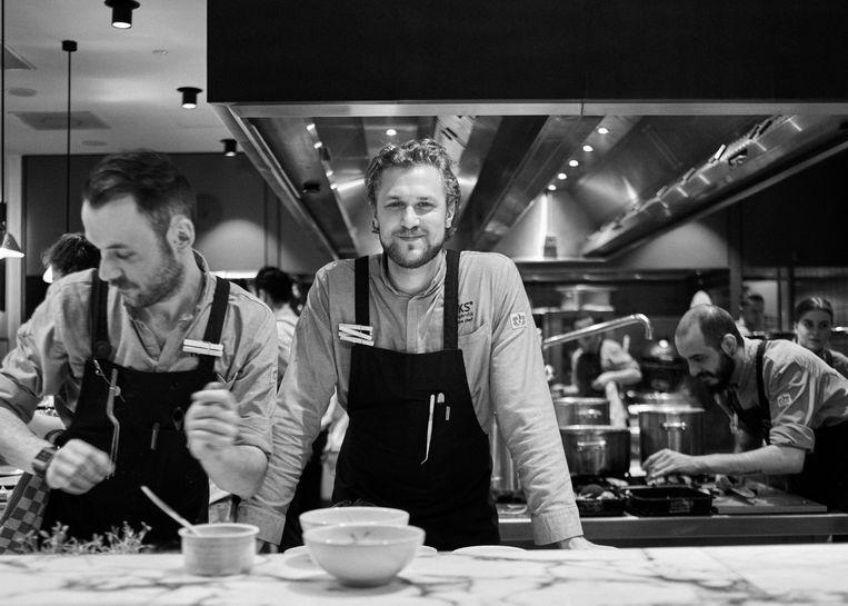Joris Bijdendijk bij The Best Chef Awards Beeld Rinze Vegelien