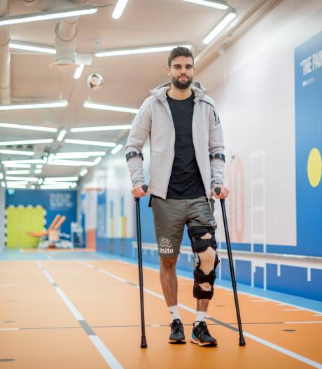 Heracles-aanvoerder tekent ondanks zware blessure bij