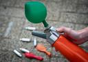 Het gebruik van lachgas neemt toe in populariteit.