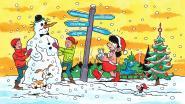 Suske en Wiske wensen je vrolijke feestdagen met unieke kerstkaart: slechts 500 exemplaren gedrukt