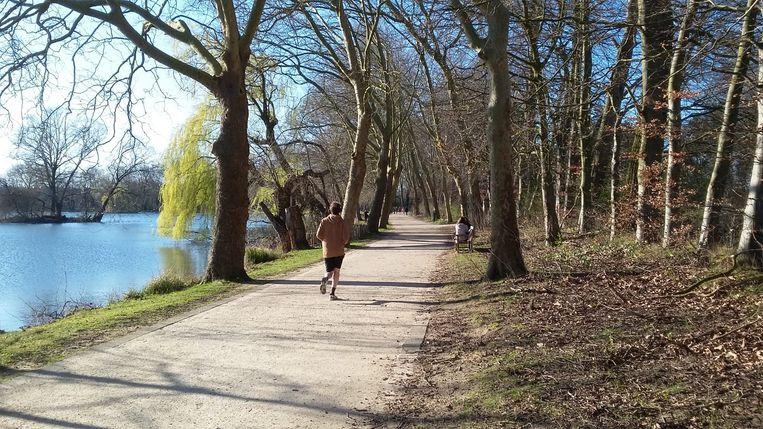 Heel wat mensen gingen het voorbije weekend joggen in het provinciedomein in Kessel-Lo.