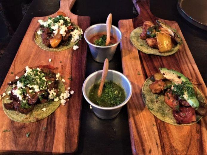 Taco's bij Bicho Malo.