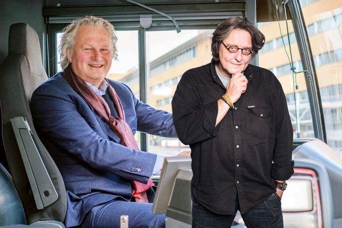 Kees Thies (rechts) vindt dat het openbaar vervoer in Nederland lijdt aan het Eringa-virus.