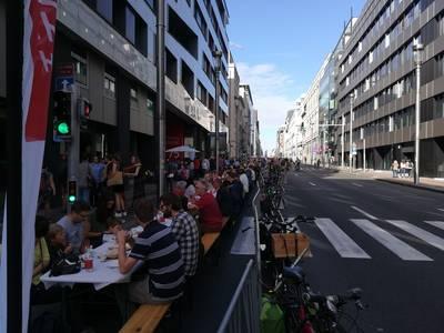 Les Bruxellois peuvent demander à rendre leur rue ouverte au jeu