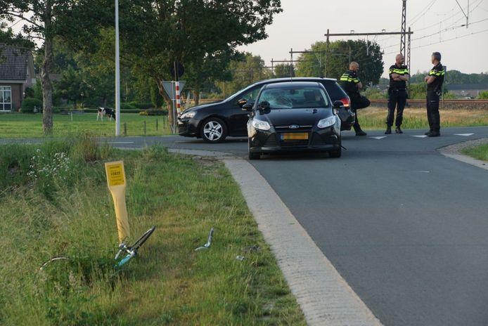 Ongeval in Punthorst.