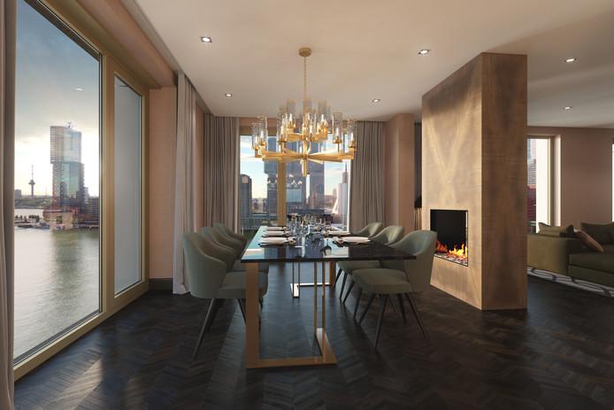 De inrichting van de woning kan worden gedaan door interieur designers Robert Kolenik, Mariska Jagt en Madelon Overeijnder.