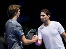 Nadal bij start ATP Finals onderuit tegen titelverdediger Zverev