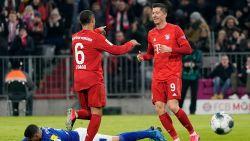 Bayern wint topper tegen Schalke, zonder Raman, eenvoudig en blijft in het zog van Leipzig