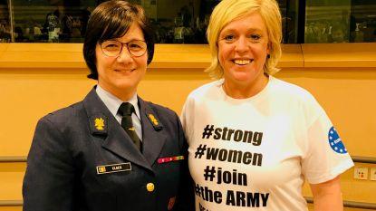 Politica Hilde Vautmans pleit voor meer vrouwen in het leger