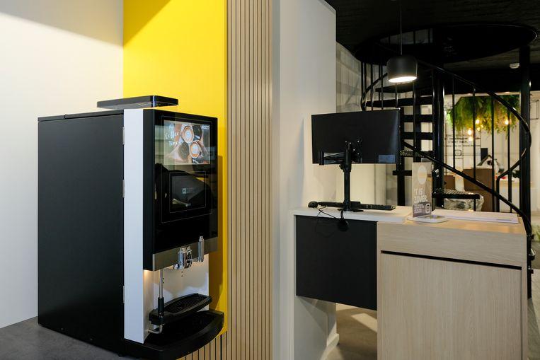 Telenet Center Vilvoorde: koffie van Mignolet
