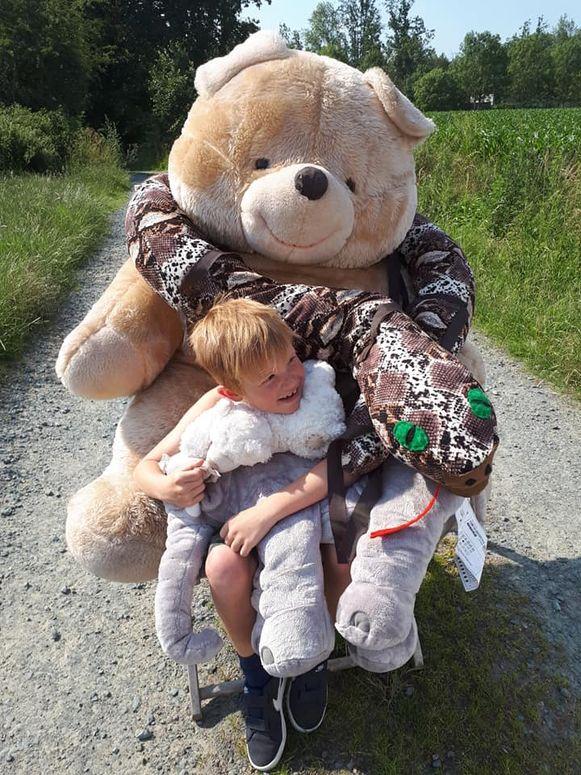 De eerste berenstoel stond in Bussegem