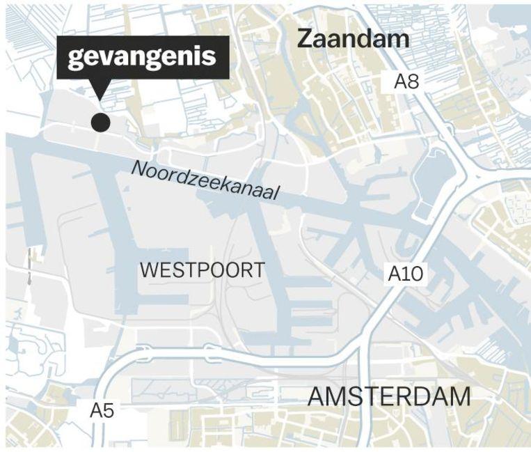 Justitieel Complex Zaanstad. Capaciteit: 1000 personen Beeld  Jorris Verboon