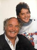 Nico Haak en zijn zoon Kees.