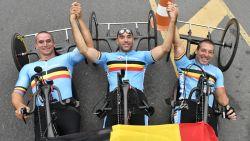 Handbiker Christophe Hindricq ontvangt Trofee Victor Boin
