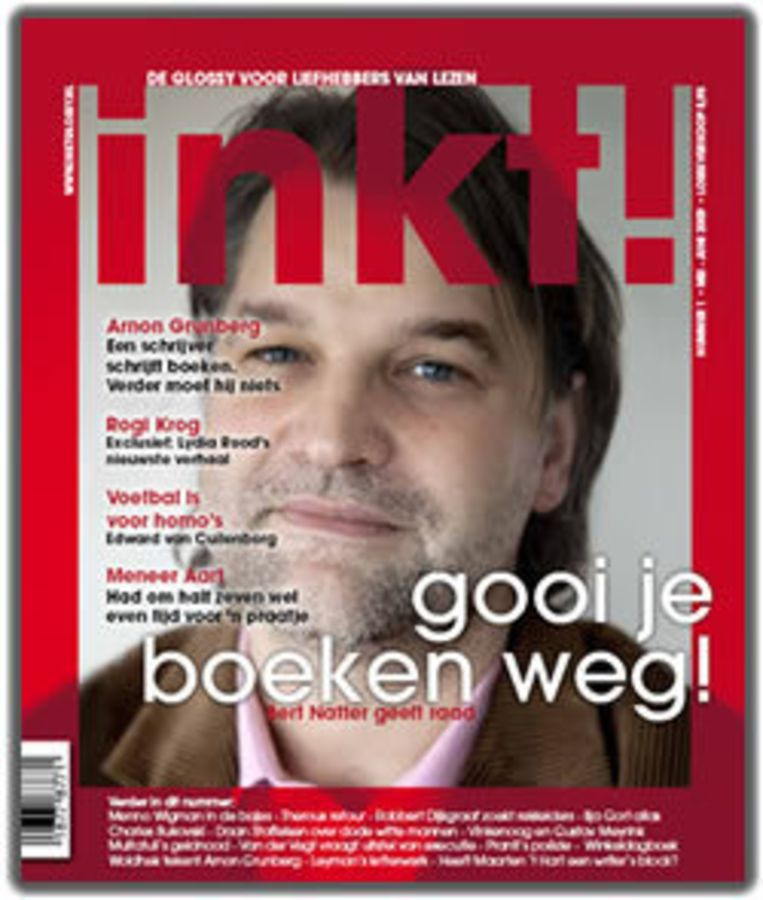 Hoofdredacteur Vincent van de Vrede schrijft voorin het blad dat hij en de redactie van Inkt! 'geloven in boeken en liefhebbers van lezen'. Beeld