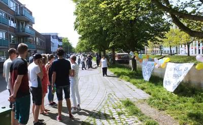 Buurt protesteert tegen overlast hostel Breda