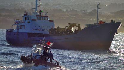 Honderden bootvluchtelingen in nood bij Kreta