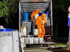 Duizenden liters drugsafval gevonden in vrachtwagen in Drimmelen