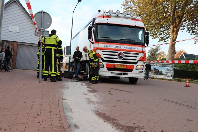 Lekkage dieseltank in Rijswijk.