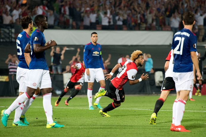 Tonny Vilhena was op 15 september 2016 de matchwinner tegen Manchester United (1-0).