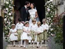 'Prins George en prinses Charlotte brengen Meghan naar het altaar'