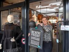 Black Friday in Rhenen: gezamenlijke ballonnen en ieder zijn eigen korting
