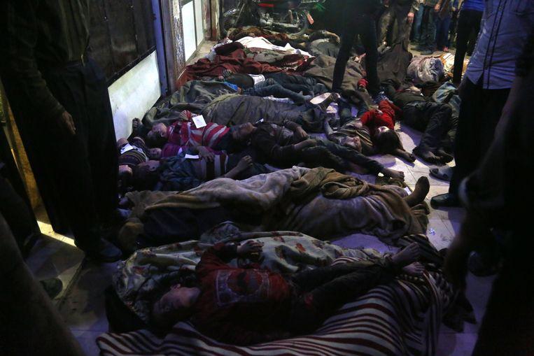 Bij de aanval kwamen tientallen burgers om het leven.
