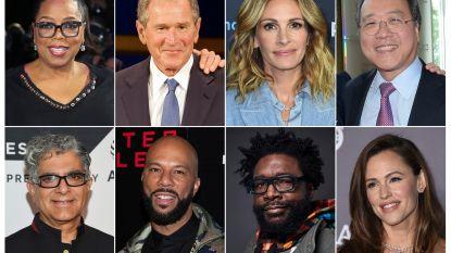 Sterren als Oprah Winfrey en Julia Roberts doen massaal mee aan benefiet voor Covid-19 fonds