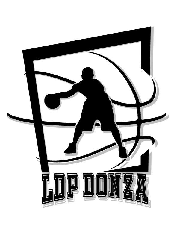 Het nieuwe logo van fusieclub LDP Donza.